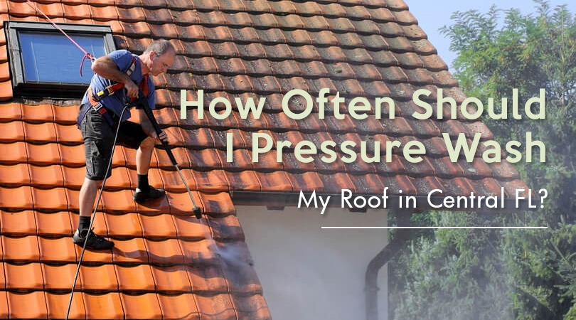 How Often Should I Pressure Wash My Roof?