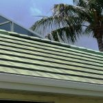 Green Tile Roof after