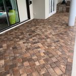 Paver Sealer porch