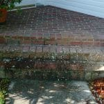 porch brick 1 before