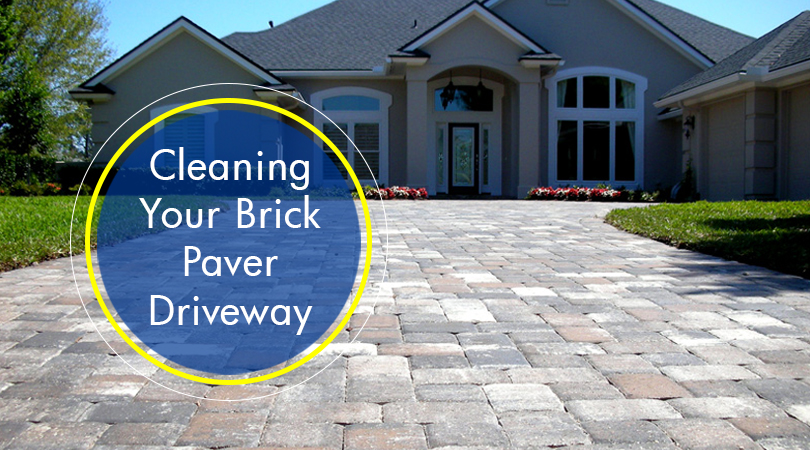 Cleaning Your Brick Paver Driveway